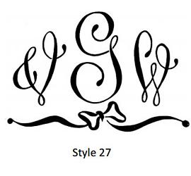 Swiss Monogram Style 27